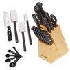 Farberware 22-Piece Cutlery Tools Block Set