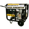Buffalo Tools Pro Series 6,000 Watt Diesel Generator with Wheel Kit