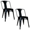 Buffalo Tools AmeriHome Metal Dining Chair (Set of 2)