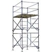 Buffalo Tools 13.3'H x 5'W x 7'D Two Story Stationary Scaffold Tower