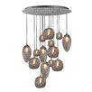 Oggetti Cosmos 14 Globes Chandelier
