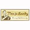 Pro Tour Memorabilia Time for Laundry B Vintage Advertisement Plaque