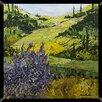 Pro Tour Memorabilia Tranquil Landscape Framed Painting Print