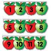 <strong>Mini Bb Set Apples Number Line</strong> by Creative Teaching Press