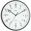 "<strong>Opal Luxury Time Products</strong> 12.2"" Military Time Analogue Wall Clock"