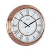 "Opal Luxury Time Products 15.44"" Round Antique Look Wall Clock"