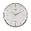 "Opal Luxury Time Products 14.4"" Dome Glass Wall Clock"