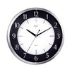 "Opal Luxury Time Products 14"" Round Dome Glass Wall Clock"