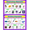 Frank Schaffer Publications/Carson Dellosa Publications Beginning And Ending Digraphs