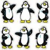 <strong>Dazzle Stickers Penguins 90-pk Acid</strong> by Frank Schaffer Publications/Carson Dellosa Publications