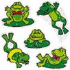 <strong>Dazzle Stickers Frogs 75-pk Acid &</strong> by Frank Schaffer Publications/Carson Dellosa Publications