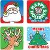<strong>Frank Schaffer Publications/Carson Dellosa Publications</strong> Stickers Christmas 120/pk Acid &
