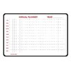 <strong>Ghent</strong> Annual Dry Erase Planner 2' x 3' Whiteboard
