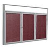 Ghent 3 Door Outdoor Illuminated Headliner Cork Bulletin Board