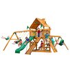 <strong>Gorilla Playsets</strong> Frontier with Amber Posts Cedar Swing Set