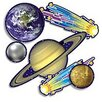 <strong>Teachers Friend</strong> Accent Punch-outs Solar System 36pk