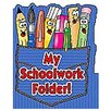 <strong>Teachers Friend</strong> Pocket Folder My Schoolwork Folder