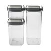 OXO Steel 3 Piece Pop Container Set