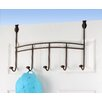 Spectrum Diversified Duchess Over the Door 5 Hook Rack