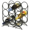 <strong>Spectrum Diversified</strong> 9 Bottle Tabletop Wine Rack