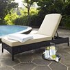 Crosley Palm Harbor Chaise Lounge with Cushion