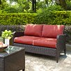 Crosley Kiawah Loveseat with Cushions
