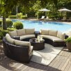 Crosley Catalina 6 Piece Deep Seating Group with Cushions