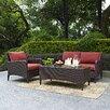 Crosley Kiawah 3 Piece Deep Seating Group with Cushions