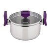<strong>Lift and Pour Stainless Steel Casserole with Lid</strong> by Charterhouse