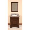 "Lanza Perkin 28"" Vanity Set with Backsplash & Matching Mirror"