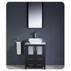 "Fresca Torino 24"" Single Modern Bathroom Vanity Set with Mirror"