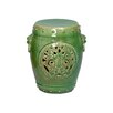 <strong>Dragon Medallion Garden Stool</strong> by Emissary Home and Garden