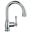 Grohe Bridgeford Single Handle Desk Mount Kitchen Sink Faucet