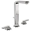 Grohe Veris Widespread Bathroom Faucet with Double Lever Handles