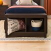 <strong>Fremont Cubbie Storage Bench</strong> by Prepac