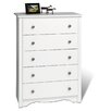 <strong>Prepac</strong> Monterey 5 Drawer Chest