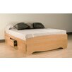 <strong>Sonoma Storage Platform Bed</strong> by Prepac
