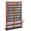 <strong>Double Barrister Multimedia Storage Rack</strong> by Prepac