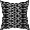 Checkerboard, Ltd Hex Throw Pillow