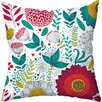 <strong>Wildflowers Throw Pillow</strong> by Checkerboard, Ltd