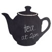 Wallies Teapot Chalkboard Murral