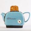 TeaPottery Small Toaster Teapot