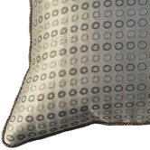 Cavalli Small Circles Decorative Pillow in Beige and Gold