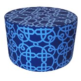 Web Pouf Cotton Ottoman