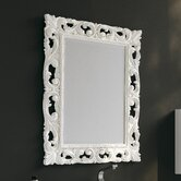 Archeda V Mirror in Eclectic White