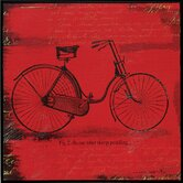 Bicycle I / II Framed Art (Set of 2)