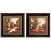 Sullivan Creek I and II Framed Print Set