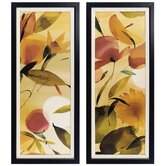 Fiesta I and II Framed Print Set
