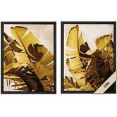 Palm Fronds I / II Wall Art (Set of 2)