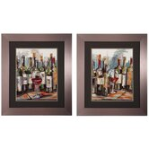 Uncorked I / II Wall Art (Set of 2)